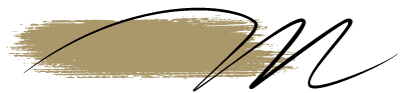 Typographie du logo de Madame M