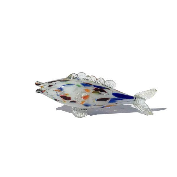 Poisson en verre de Murano disponible sur le eshop de Madame M catégorie Brocante